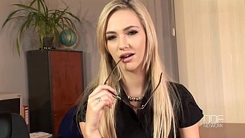 Sophia Knight Is A Teacher Hottie Masturbates On Chair With Dildo