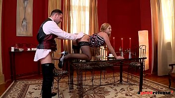 Servant Satisfy Mistress Nymphomaniac Sparta In The Bunghole Of A Lot Of Dick