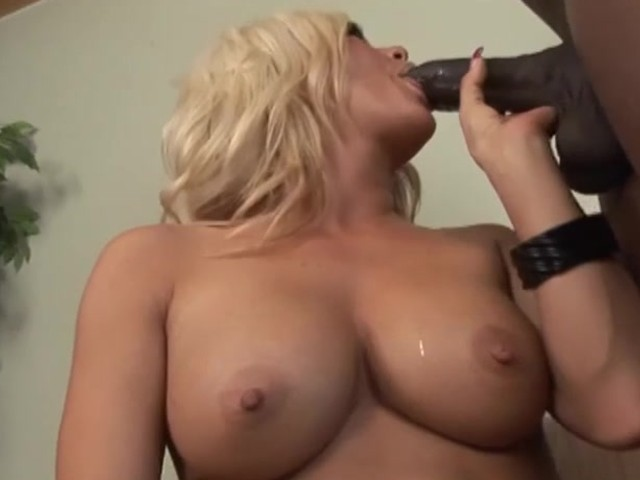 Big Black Dick Fucks Her Shaved Pussy - Blackout Pictures