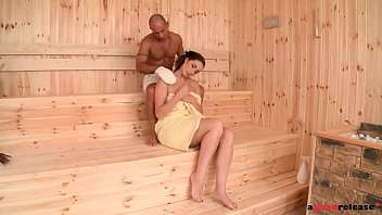 Starlet With Pussy Pink Wet Sauna Penetrated By Black Dick Erect