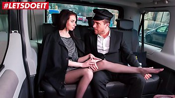 Sex With Brunettes With Long Legs And Crotch Great Fuck In The Cab