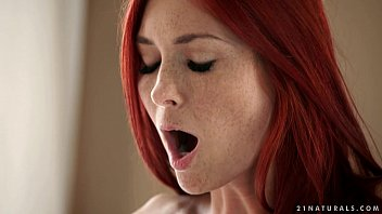 Redhead Freckle Obsessed With Anal Sex Practice Big Pleasure