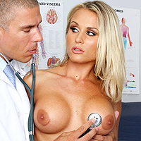 The Doctor Is A Pervert That Will Penetrate Patients Ass And Gives A Blowjob