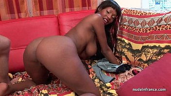 A French Woman Of Colour At All In Her Wet Pussy And Ass