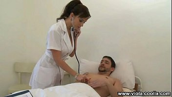 Having Sex With A Nurse Checking The Blood Pressure And Afterwards Gets Fucked