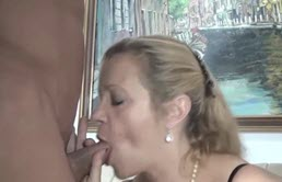 Milfa Blondie Fucked ... And Fucked Hard By A Big Guy