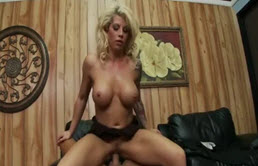 Sexy Blonde Enjoy A Big Cock