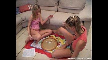 Hot Busty Lesbian Jasmin Gets Slit Toyed