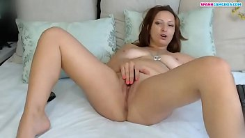 Hot Redhead Step Mom Enjoys Anal Tease - Spankcamgirls.Com