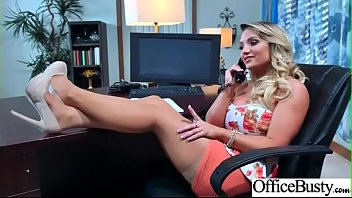 Hard Sex With Big Round Tits Nasty Office Girl (Cali Carter) Video-06