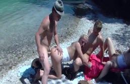 Group Sex On The Beach