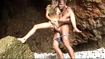 A Young Man With A Big Dick To Fuck In The Arms Of A Blonde, Skinny