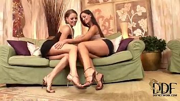 Lesbian Foot Fun With Eve Angel