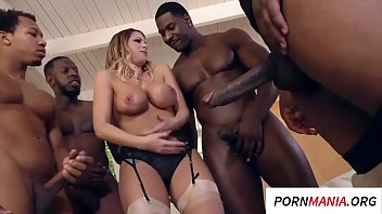 Slut Taken On A Fuck Of A Lot Of Black Guys Xnxx