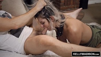 A Blonde Is Pulled Of Hair To Suck Cock Deep