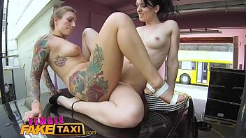 Sex With Two Hot Chicks, What's Rubbing Her Pussy And Ass