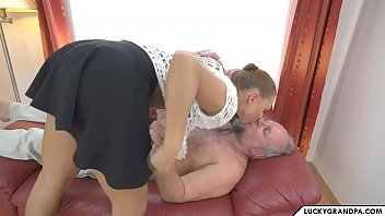 Naked Grandpa With Big Dick And He Fucks The Niece Of A Very Powerful