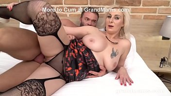Blonde Mature Who Da Fuck Grandson