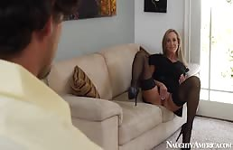 Lucky Guy Fucks Hot Milf Brandi Love