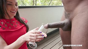 Nataly Tasting Sperm Out Of Black Fuck Anal