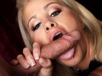 Jessica Nik Sucks Cock Until Cum Jumps On It
