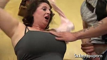 Sex With A Grandmother Who Fucks Two Kids