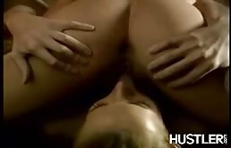 Two Lesbians Having Fun In The Sauna