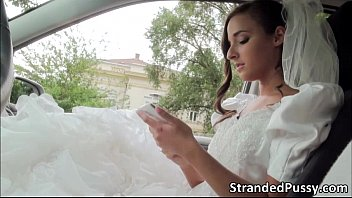The Bride Who Is Fucked In The Ass, On The Day Of The Wedding, A Lover