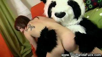 Teen Girl Banging Hey Toypandas Bamboo