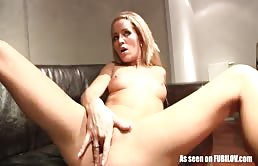 She Masturbates And Is Fucked Deep In Her Wet Pussy