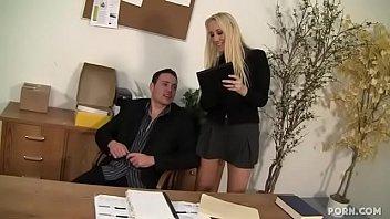 Busty Milf Sex In The Office