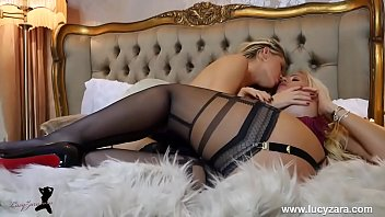 Lesbians With Big Tits In Stockings Sexy Fingering