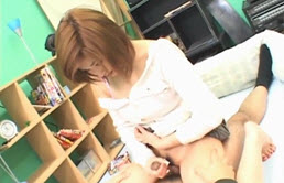 Naughty Asian Student Jerks Off Her Teacher