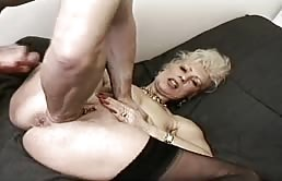 Granny Is Satisfied With Anal Sex