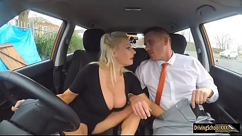 Having Sex With The Drivers Of Blondes That Have Big Boobs Get Fucked By Lawyer