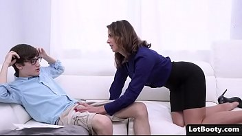 A Good Teacher Doesn't Have Anyone To Fuck So She Gets Fucked By The Student