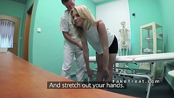 Kristina, In Bucharest, Having Sex In The Office With The Doctor's Family