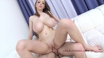 With Big Tits In Porn, Having Sex With A Strap-On Dildo And Fitted