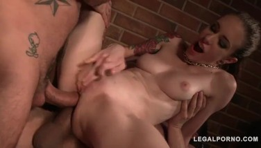 American Sluts Anna De Ville Violet Monroe In Hardcore Mini Orgy With Balls