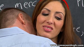 Innocenthigh Tall Brunette Teen Vivie Delmonico Fucked Facialized