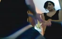 Hot Bitch Dance Near A Mirror