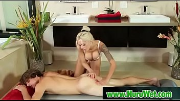 Hot Asian Gives Pleasure In Nuru Massage 11