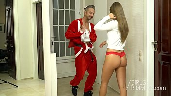 Girlsrimming - Bad Santa Rimming Christmas Tiffany Tatum