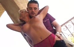 Outdoor Fuck With Hot Blonde Milf