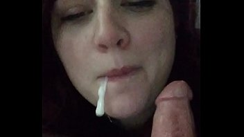 Slut Likes Very Much To Suck Slowly And Well As They Don't Get Tired Of Taking Blowjob