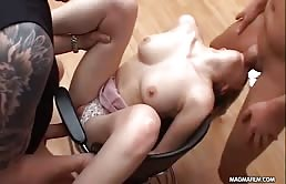 Tits Blonde Teeny Fucked By Two Pularai