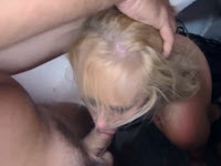 Blonde Gaozara Penetrated Deep By Cock In The Rosette