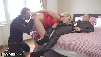 Seduce Two Men With Big Cocks Who Fuck Her Violently