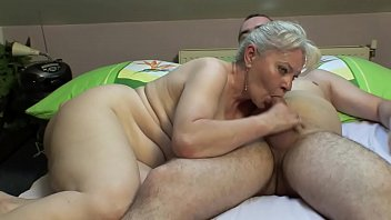 Porn With An Old Woman Skilled At Sucking A Dick He Is Sucking On A Young