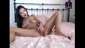 Romanian Jessica Makes Herself Cum With Hitachi And Butt Plug For An American Visa